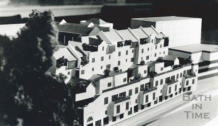 Architects model for the proposed Podium Development 22 Feb 1982