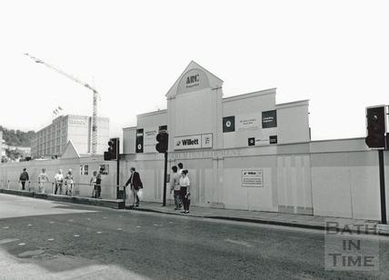 Hoardings for the Podium Centre Development, Northgate Street 11 August 1988