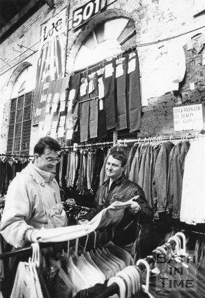 Tramshed Flea Market, Walcot Street, Bath 5 Dec 1992