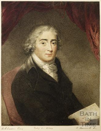 Portrait of the celebrated Italian castrato Venanzio Rauzzini (1746 - 1810) 1800