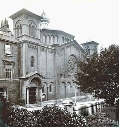 Percy Chapel, Charlotte Street c.1890
