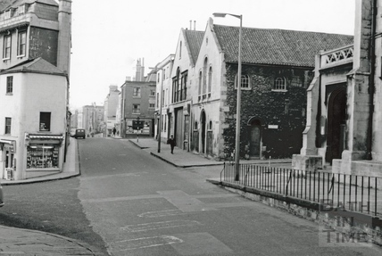 View of Julian Road looking west, with the junction of Rivers Street 1966
