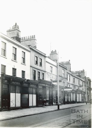 Walcot Street, Ladymead, east side, 1936