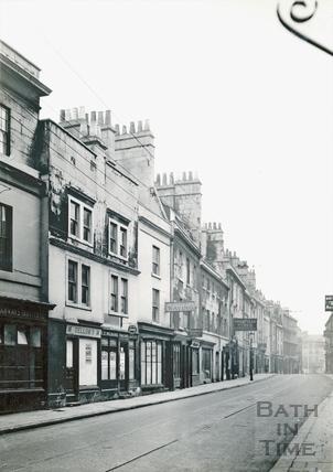 Walcot Street, east side, looking towards Northgate Street, 1936
