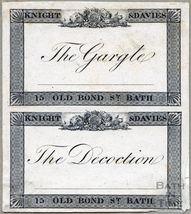 The Gargle, The Decoction 1824
