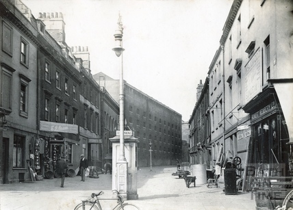 Somerset Street, north side, viewed from Southgate Street c.1932
