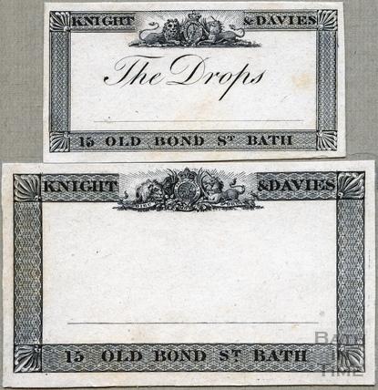 Medicine labels 1824