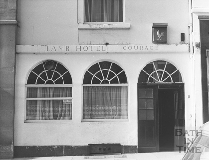 The Lamb Hotel, Stall Street, April 1972