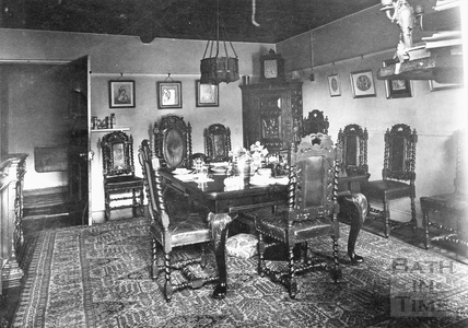 Cold Ashton Manor interior c.1920