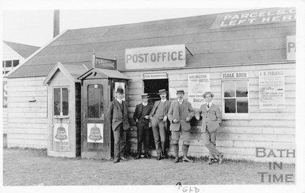 Field Post Office, Salisbury Plain c.1905