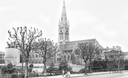 St. John's Roman Catholic church, Bath c.1910