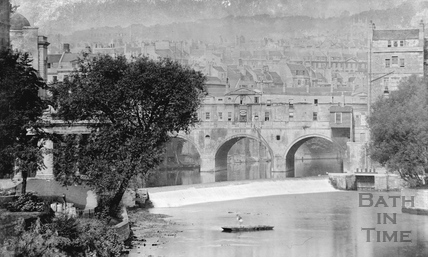 River Avon and Pulteney Bridge c.1910