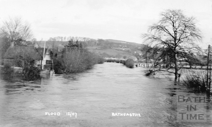Flood, Batheaston Dec 1907