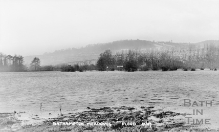 Bathampton Meadows Flood, December 1907