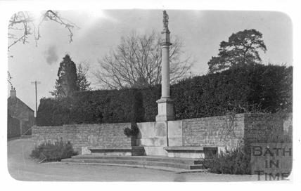 War memorial, Mells, c.1920