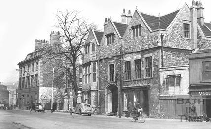 Abbey Church House, Westgate Buildings c.1920s