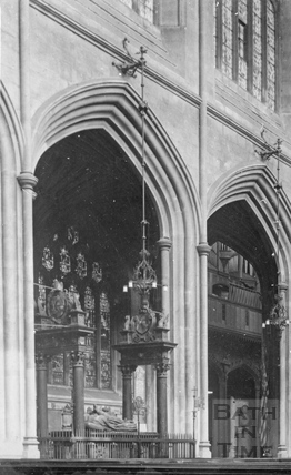 Bath Abbey interior c.1910