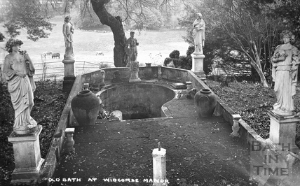 Old Bath at Widcombe Manor, c.1920s