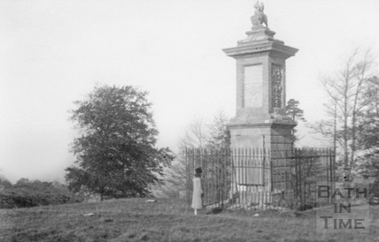 Lansdown monument c.1920