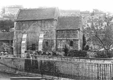 Saxon Church, Bradford-on-Avon c.1920
