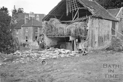 Floods at Larkhall, 1932