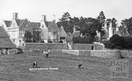 Cold Ashton Manor c.1920