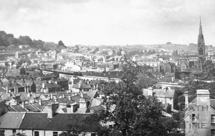 View of Widcombe from Sydney Buildings c.1950s
