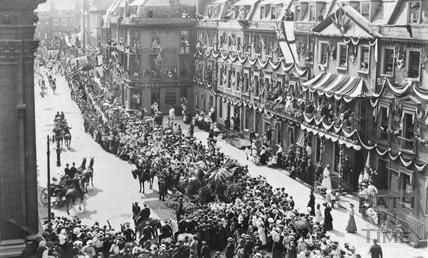 Royal visit, George Street c.1917