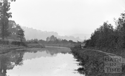 The Kennet and Avon Canal, Claverton c.1910