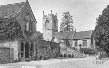 St. Catherines, view of church c.1910