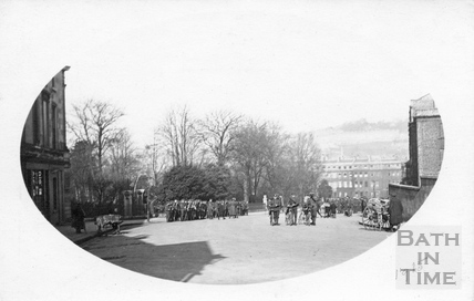 12th Hants at Raby Place, Bathwick Hill 1915