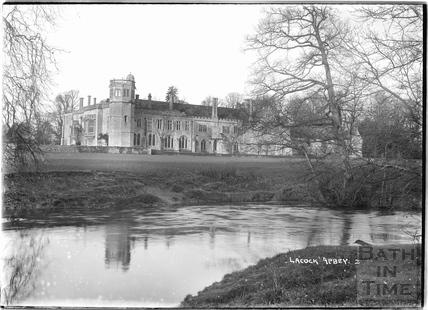 Lacock Abbey No.2 c.March 1935