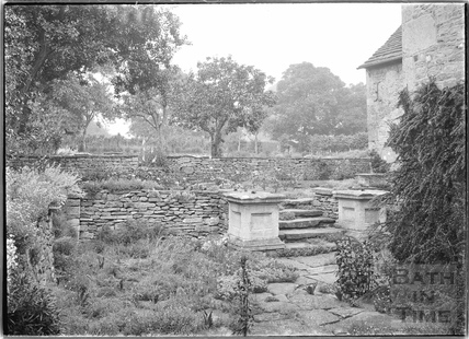 Gardens at The Close, Biddestone 1933