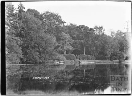 The lake at Shearwater, Longleat c.1930s