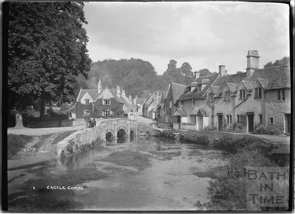 The classic view of Castle Combe No.1, 1936