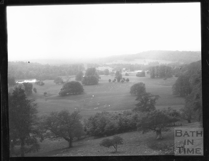 Longleat House viewed from Heaven's Gate, Wiltshire, c. 1900