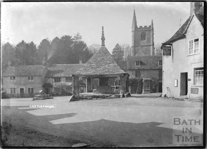 The Castle Inn, Castle Combe 1936