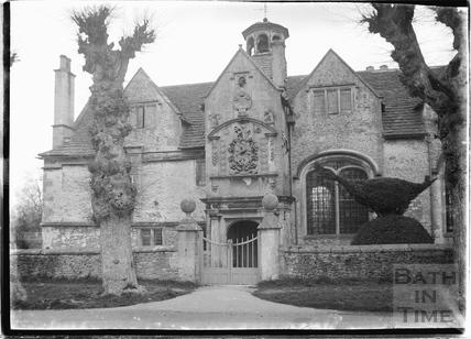 Alms Houses, Corsham c. August 1922