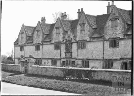 Alms Houses, Corsham, c. 1937