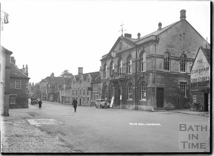 Town Hall, Corsham, c.1937
