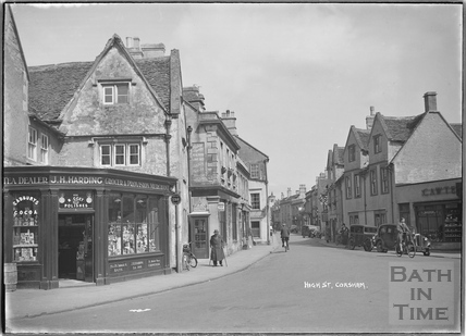 High Street, Corsham, c.1937