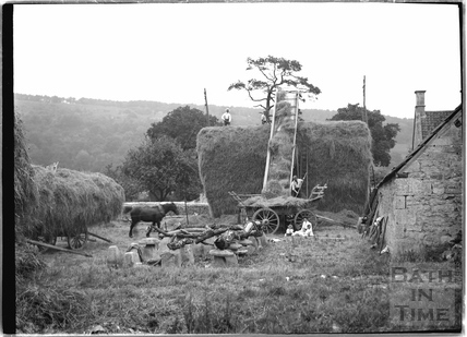An idyllic rural scene, Castle Combe 1936