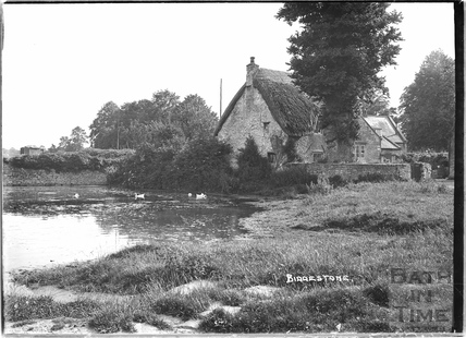 View over the village pond, Biddestone 1933