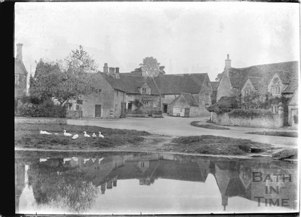 View over the village pond, Biddestone 1933
