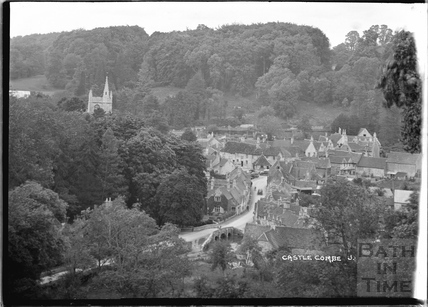 General View of Castle Combe No.3 c.1930s