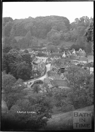 General View of Castle Combe No.4 c.1930s