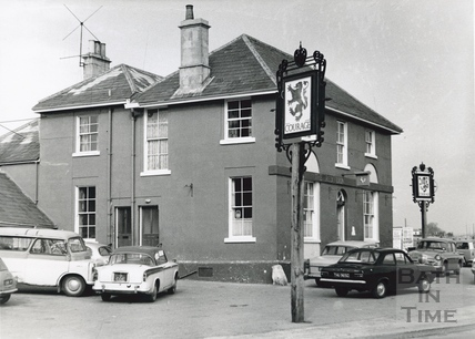 The New Red Lion, Frome Road, Wellsway, March 1970