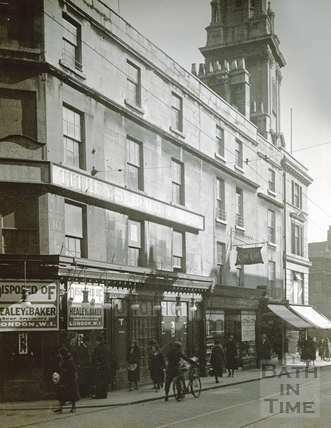 Stall Street from the north, showing a portion of the south side of Titleys vacant premises c.1932