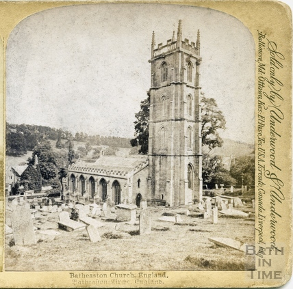 Batheaston Church, Northend, c.1870