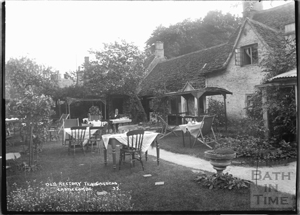Old Rectory Tea Gardens, Castle Combe No.33 c.November 1933